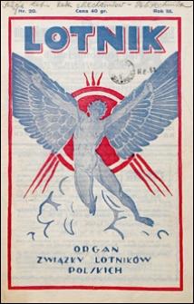 Lotnik 1926 nr 20