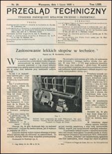 Przegląd Techniczny 1925 nr 26