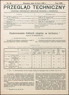 Przegląd Techniczny 1925 nr 28