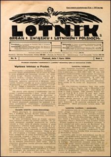 Lotnik 1924 nr 9