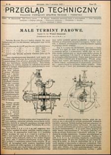 Przegląd Techniczny 1922 nr 36
