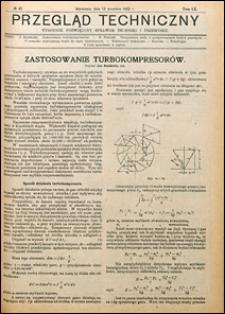 Przegląd Techniczny 1922 nr 37