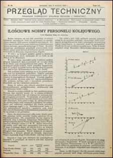 Przegląd Techniczny 1922 nr 40