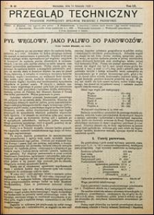 Przegląd Techniczny 1922 nr 46