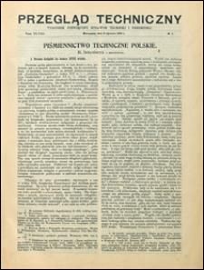 Przegląd Techniczny 1910 nr 1