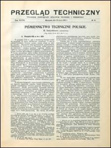 Przegląd Techniczny 1910 nr 10