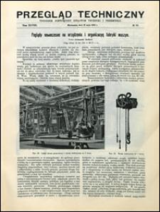 Przegląd Techniczny 1910 nr 19