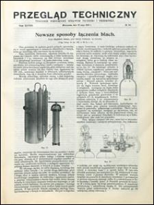 Przegląd Techniczny 1910 nr 20