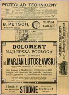 Przegląd Techniczny 1912 nr 44