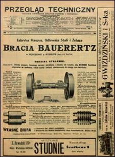 Przegląd Techniczny 1912 nr 46