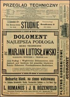 Przegląd Techniczny 1912 nr 48