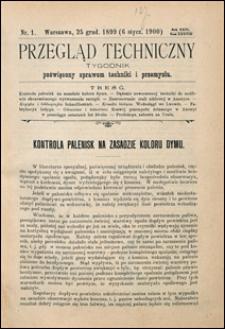 Przegląd Techniczny 1900 nr 1