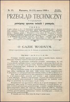 Przegląd Techniczny 1900 nr 13