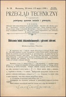 Przegląd Techniczny 1900 nr 19