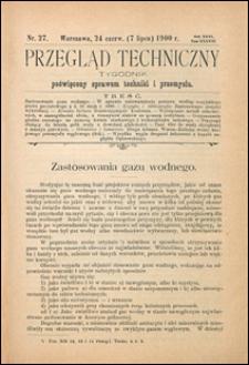 Przegląd Techniczny 1900 nr 27