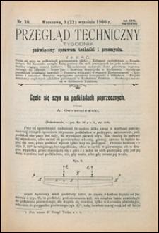 Przegląd Techniczny 1900 nr 38