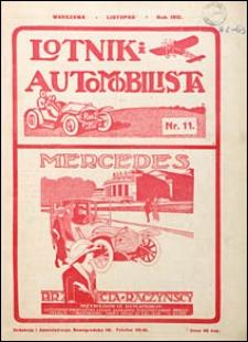 Lotnik i Automobilista 1912 nr 11