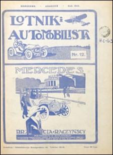 Lotnik i Automobilista 1912 nr 12