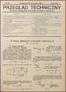 Przegląd Techniczny 1927 nr 8
