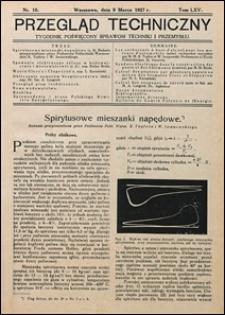 Przegląd Techniczny 1927 nr 10