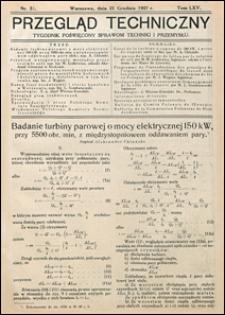 Przegląd Techniczny 1927 nr 51
