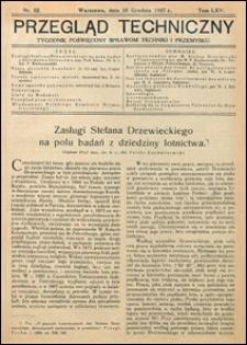 Przegląd Techniczny 1927 nr 52