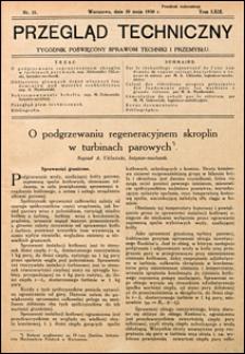 Przegląd Techniczny 1930 nr 21