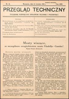 Przegląd Techniczny 1930 nr 38