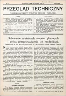 Przegląd Techniczny 1931 nr 3
