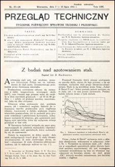 Przegląd Techniczny 1931 nr 27-28