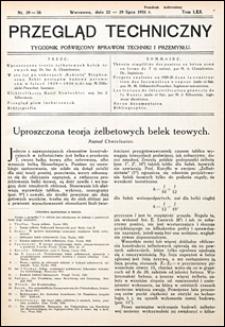Przegląd Techniczny 1931 nr 29-30