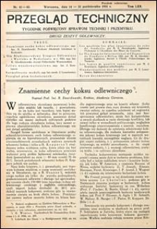 Przegląd Techniczny 1931 nr 41-42