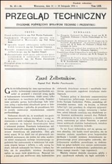 Przegląd Techniczny 1931 nr 45-46