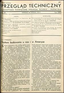Przegląd Techniczny 1935 nr 23