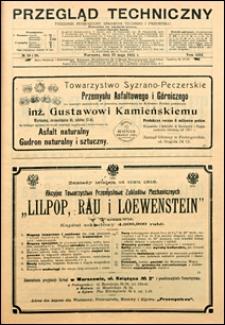 Przegląd Techniczny 1915 nr 19-20