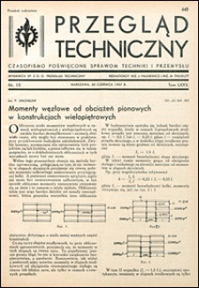 Przegląd Techniczny 1937 nr 13