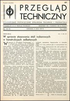 Przegląd Techniczny 1937 nr 14-15