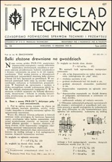 Przegląd Techniczny 1937 nr 19