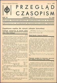 Przegląd Czasopism 1937 nr 6