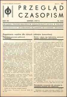 Przegląd Czasopism 1937 nr 8