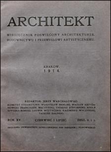 Architekt 1914 nr 6-7