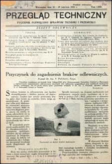 Przegląd Techniczny 1932 nr 25-26
