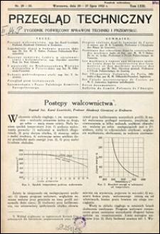 Przegląd Techniczny 1932 nr 29-30