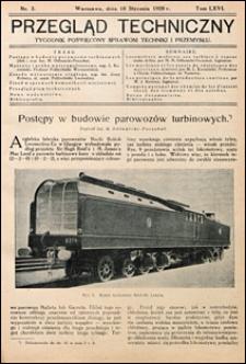 Przegląd Techniczny 1928 nr 3