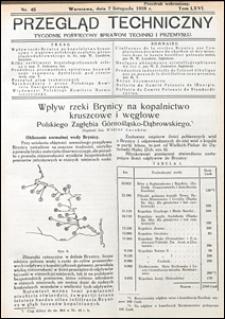 Przegląd Techniczny 1928 nr 45
