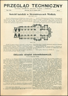 Przegląd Techniczny 1903 nr 45