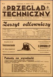 Przegląd Techniczny 1934 nr 6