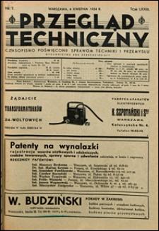 Przegląd Techniczny 1934 nr 7