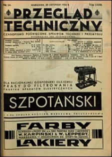 Przegląd Techniczny 1934 nr 24