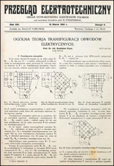 Przegląd Elektrotechniczny 1934 nr 6